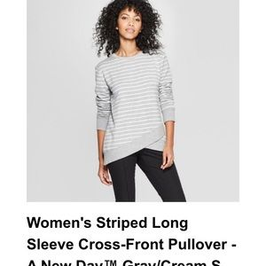 Cross Front Sweatshirt